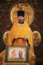Священник Александр Лебедев