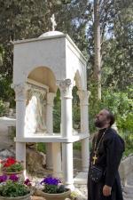 Часовня Вход Господень в Иерусалим на месте события
