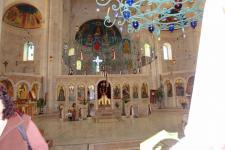 Интерьер храма в монастыре Колодец Иакова
