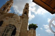 Наблус. Греческий монастырь Колодец Иакова