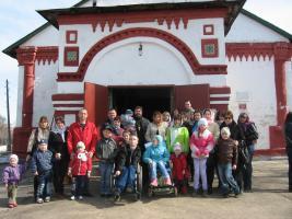 Общее фото у Корсунской церкви