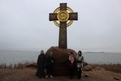 Памятный крест о крещении Ростова князем Владимиром в 991 году