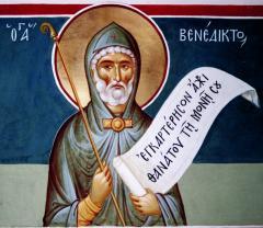 Преподобный Бенедикт Нурсийский