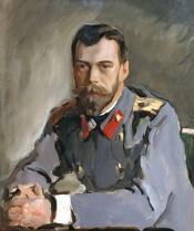Валентин Серов. Портрет Императора Николая II. 1900 г