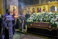 Вынос Плащаницы и Чин погребения