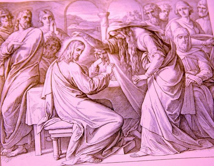 Помазание Христа в Вифании в доме Симона