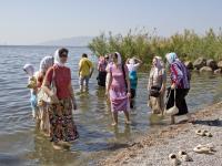 В водах Галилейского моря