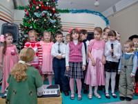 Выступление детей воскресной школы на Рождественской ёлке