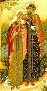 Святые Петр и Феврония, Муромские чудотворцы