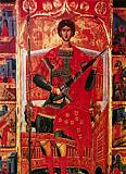 Великомученик Георгий Победоносец на троне
